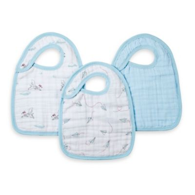 aden® by aden + anais® 3-Pack Bib Set - Liam the Brave