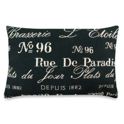 Black Natural Decorative Pillow