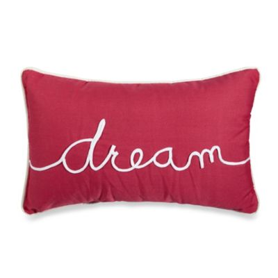 Dream Oblong Toss Pillow