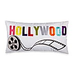 Hollywood Oblong Toss Pillow