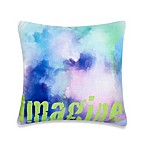 Imagine Square Toss Pillow
