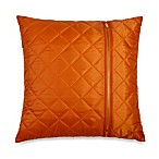 Ski Jacket Toss Pillow in Orange
