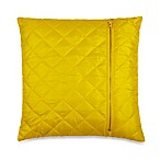 Ski Jacket Toss Pillow in Yellow