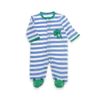 Little Me® Size Newborn Leap Frog Footie