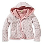 Burt's Bees Baby™ Organic Cotton Dottie Bee Hooded Jacket in Pink