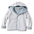 Burt's Bees Baby™ Organic Cotton Dottie Bee Hooded Jacket in Blue