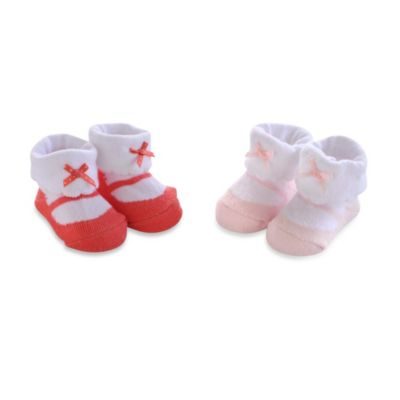 Carter's® 2-Pack Socks in Coral/Pink