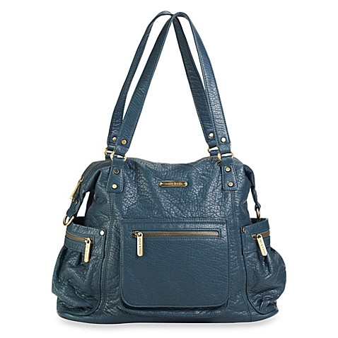 timi leslie 2013 abby diaper bag in blue buybuy baby. Black Bedroom Furniture Sets. Home Design Ideas