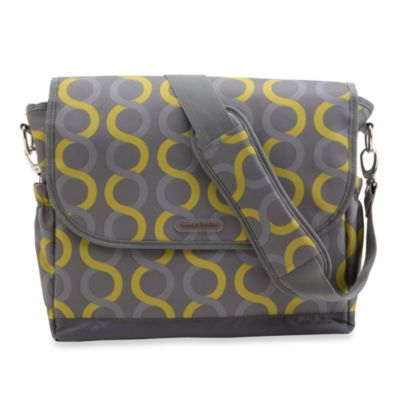 timi & leslie® Sami Messenger Diaper Bag