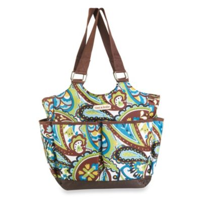 timi & leslie® Tag-A-Long Felicity Tote Diaper Bag