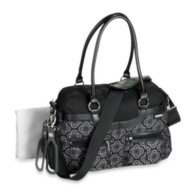 JJ Cole® Satchel Bag in Charcoal Infinity