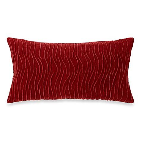 Dkny Urban Safari Oblong Decorative Toss Pillow Deep Red