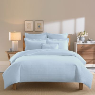Real Simple® Linear Blue Pillow Shams