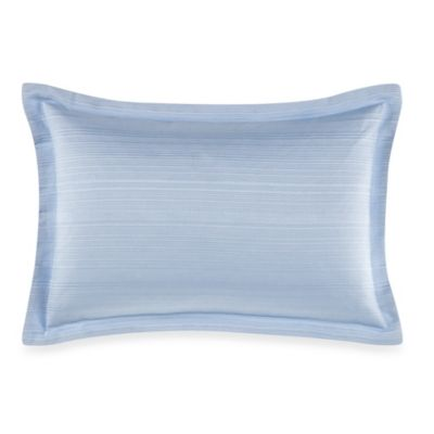 Real Simple® Linear Oblong Throw Pillow in Blue