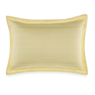 Real Simple® Linear Square Toss Pillow in Yellow