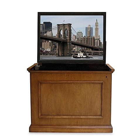 touchstone elevate end of bed tv lift cabinet bed bath beyond. Black Bedroom Furniture Sets. Home Design Ideas