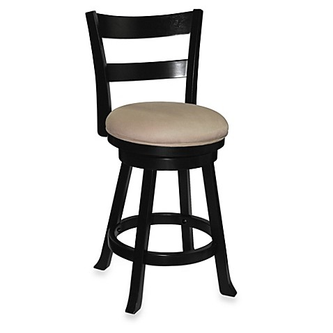 Sawyer Swivel Wood Barstool