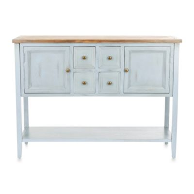 Safavieh Charlotte Sideboard in Light Blue