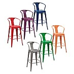Crosley Amelia Cafe Bar Stools (Set of 2)