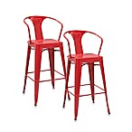Crosley Amelia Cafe Barstools (Set of 2)