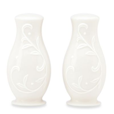 Lenox® Opal Innocence Carved Salt and Pepper Set