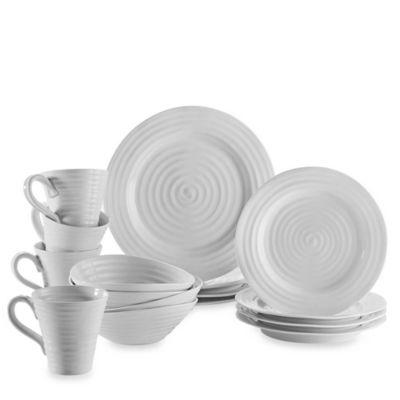 16-Piece Dinnerware Set in White