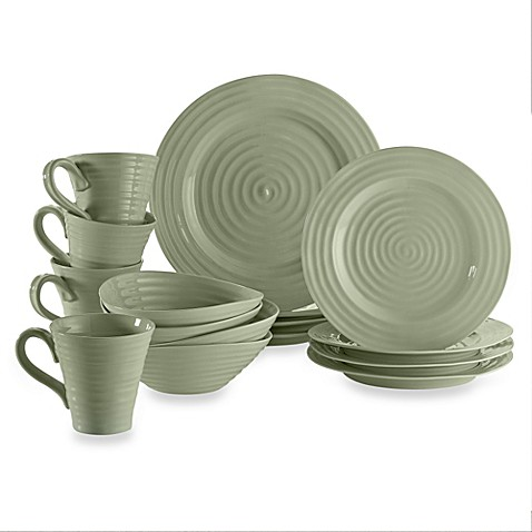 Sophie Conran for Portmeirion® 16-Piece Dinnerware Set in Sage