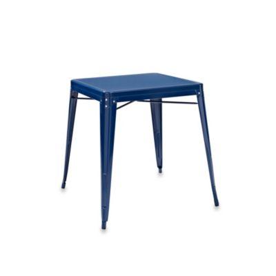 Crosley Amelia Café Table in Blue