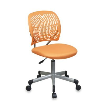 Office Star Products Designer Task Chair in Orange