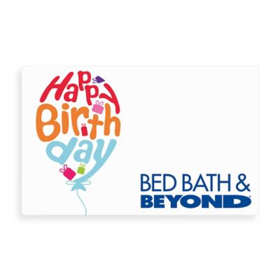 """Happy Birthday"" Balloon Gift Card $100"