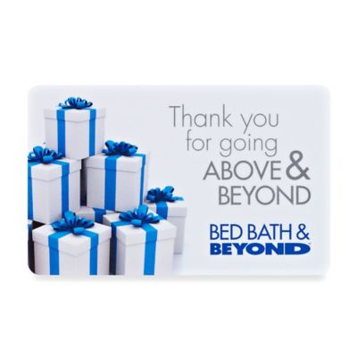 """Thank you for going ABOVE & BEYOND"" Presents Gift Card $50"