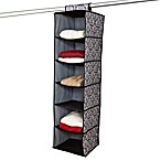 The Laura Ashley® Collection 6-Shelf Hanging Closet Organizer in Delancy