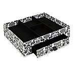 The Laura Ashley® Collection 4-Section Jewelry Organizer with Drawer in Delancy