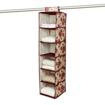 The Laura Ashley® Collection 6-Shelf Organizer in Milner