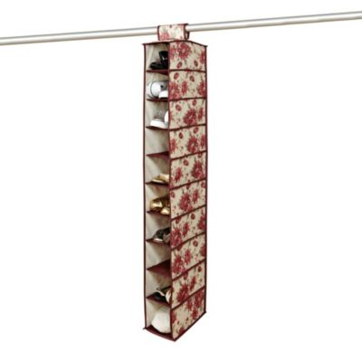 The Laura Ashley® Collection 10-Shelf Organizer in Milner