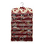 The Laura Ashley® Collection 42-Pocket Hanging Jewelry Organizer in Milner
