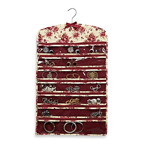 Laura Ashley® 42-Pocket Hanging Jewelry Organizer in Milner