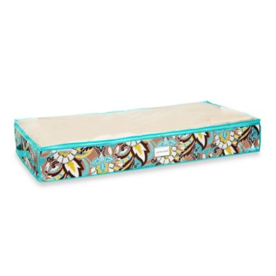 The Macbeth Collection Under Bed Storage Bag in Serenea Cappuccino