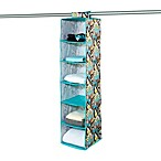 The Macbeth Collection 6-Shelf Hanging Organizer in Serenea Cappuccino