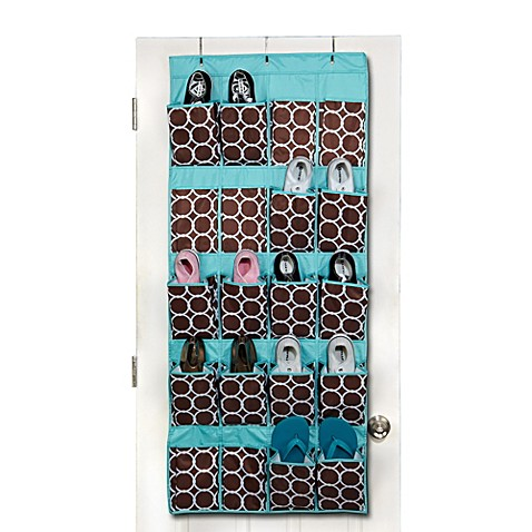 The Macbeth Collection Shoe Organizer in Hula Chocolate