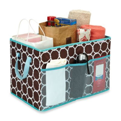 The Macbeth Collection Foldable Trunk Organizer in Hula Chocolate