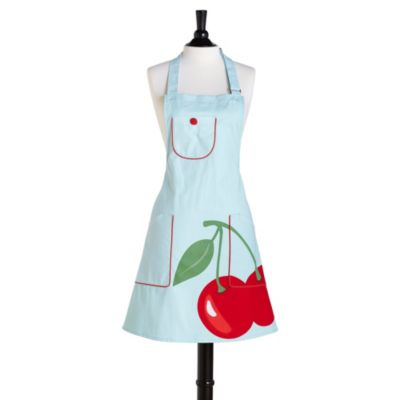 Jessie Steele Super Cherry Bib Chef's Apron