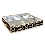 The Macbeth Collection 12-Pair Under the Bed Shoe Organizer in Hula Black
