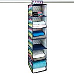 The Macbeth Collection 6-Shelf Hanging Closet Organizer in Margarita