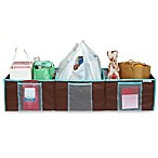 The Macbeth Collection 3 Compartment Trunk Shopping Organizer in Hula Chocolate