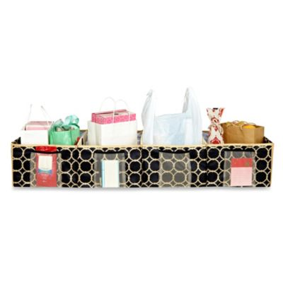 The Macbeth Collection Trunk Shopping Organizer in Hula Black