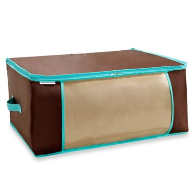The Macbeth Collection Blanket Storage Bag in Chocolate