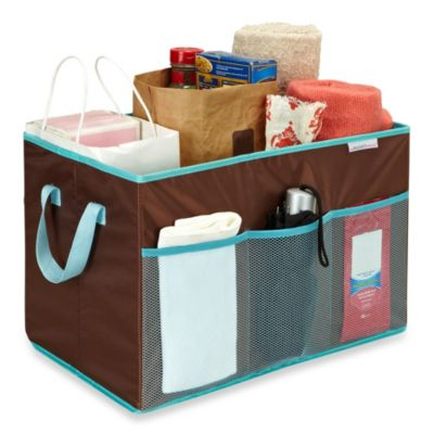 The Macbeth Collection Collapsible Trunk Organizer in Chocolate