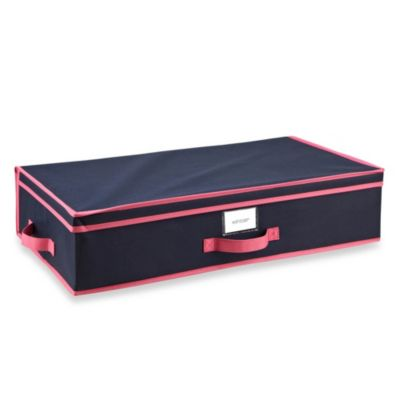 The Macbeth Collection Under-the-Bed Storage Box in Navy