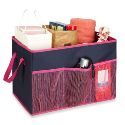 The Macbeth Collection Collapsible Trunk Organizer in Navy